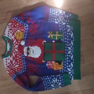 BNWOT Ugly Christmas sweater size M